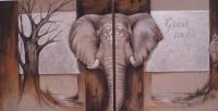 Tweeluik-olifant