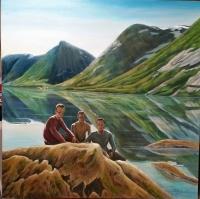 Vrienden in Noorwegen
